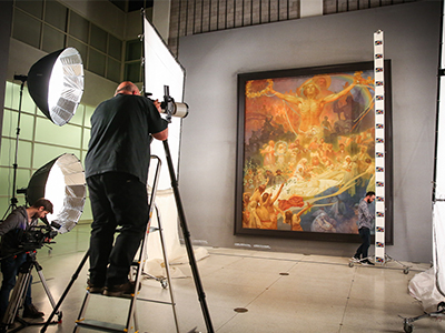Digitisation of Alfons Mucha's art