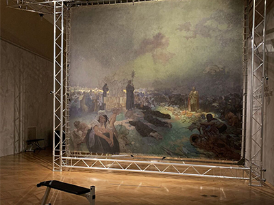 The Slav Epic: Prague Exhibition Grounds