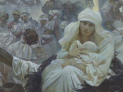 What does The Slav Epic evoke in you?