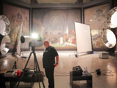 Digitalisation of The Slav Epic
