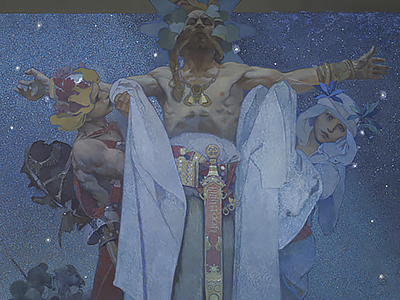 Symbolism in The Slav Epic – The Slavs in Their Original Homeland
