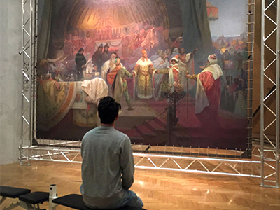 What's it like to see The Slav Epic in person for the first time?