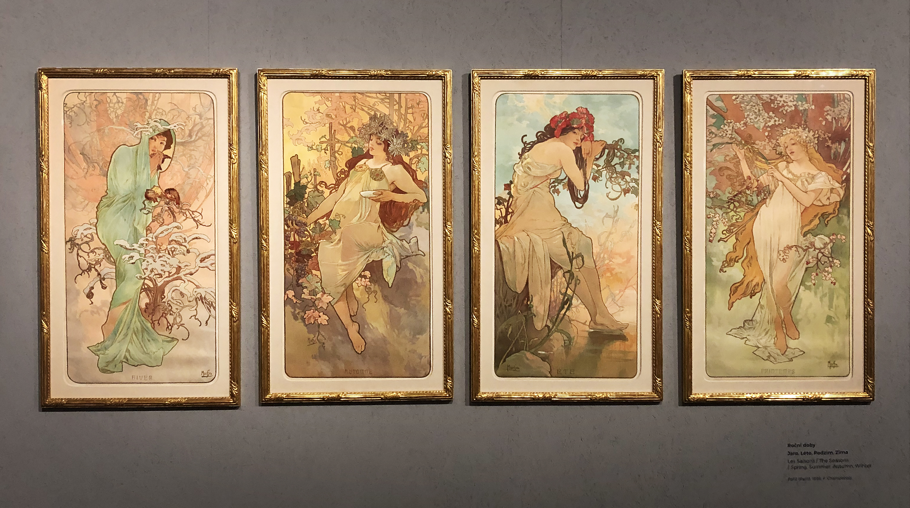 Mucha exhibitions in 2020